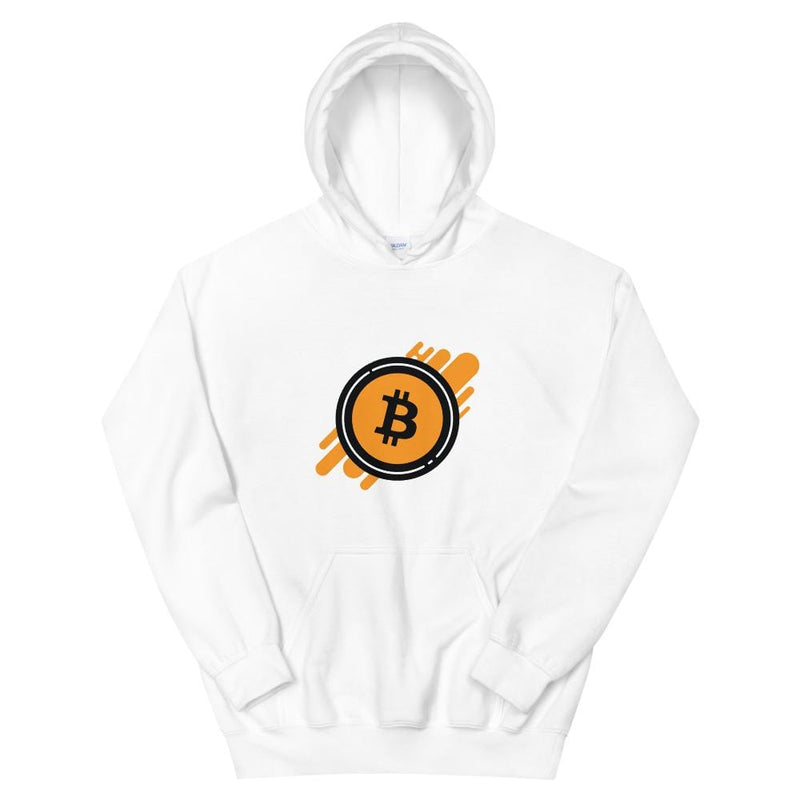 Bitcoin Splash Crypto Hoodie - Crypto Cove