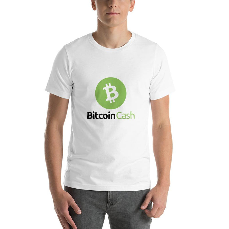 Bitcoin Cash Green Black T-Shirt