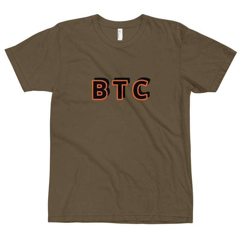 BTC T Shirt Original - Crypto Cove
