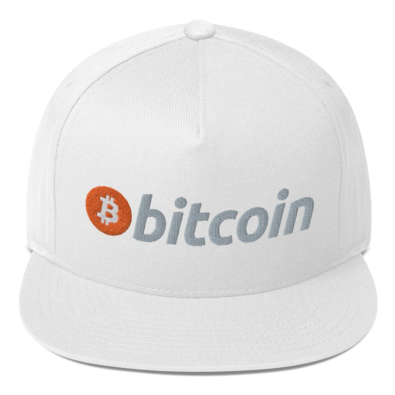 BITCOIN Flat Bill Cap