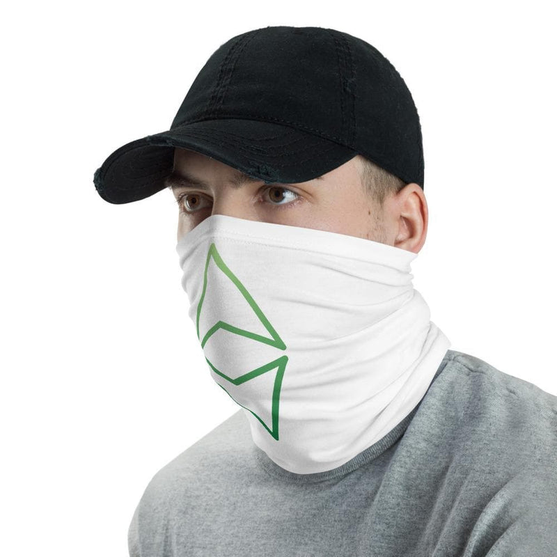 Ethereum green facemask - Crypto Cove