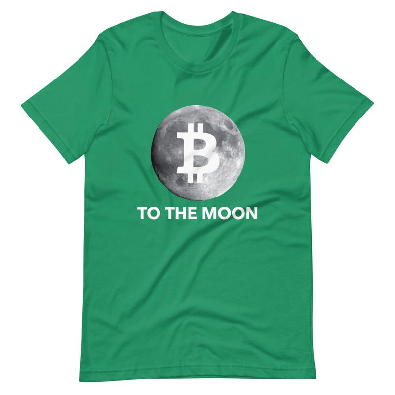 Bitcoin To the Moon T Shirt - Crypto Cove