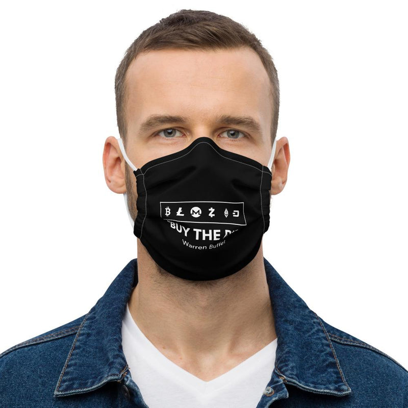 Buy the Dip Crypto Face mask