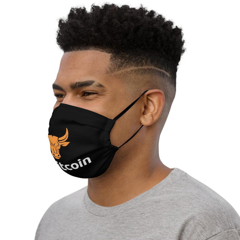 Bitcoin BULL Crypto Face Mask - Crypto Cove