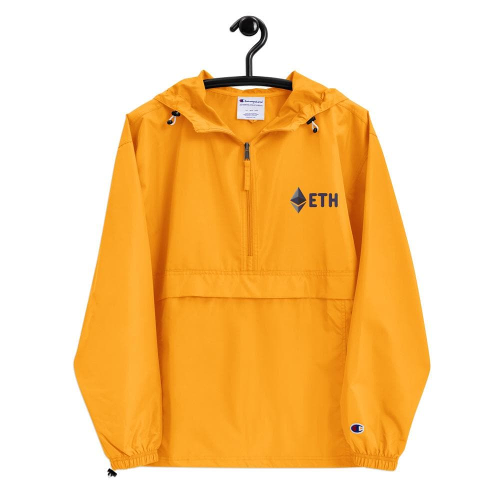 ETH Ethereum Embroidered Champion Packable Jacket
