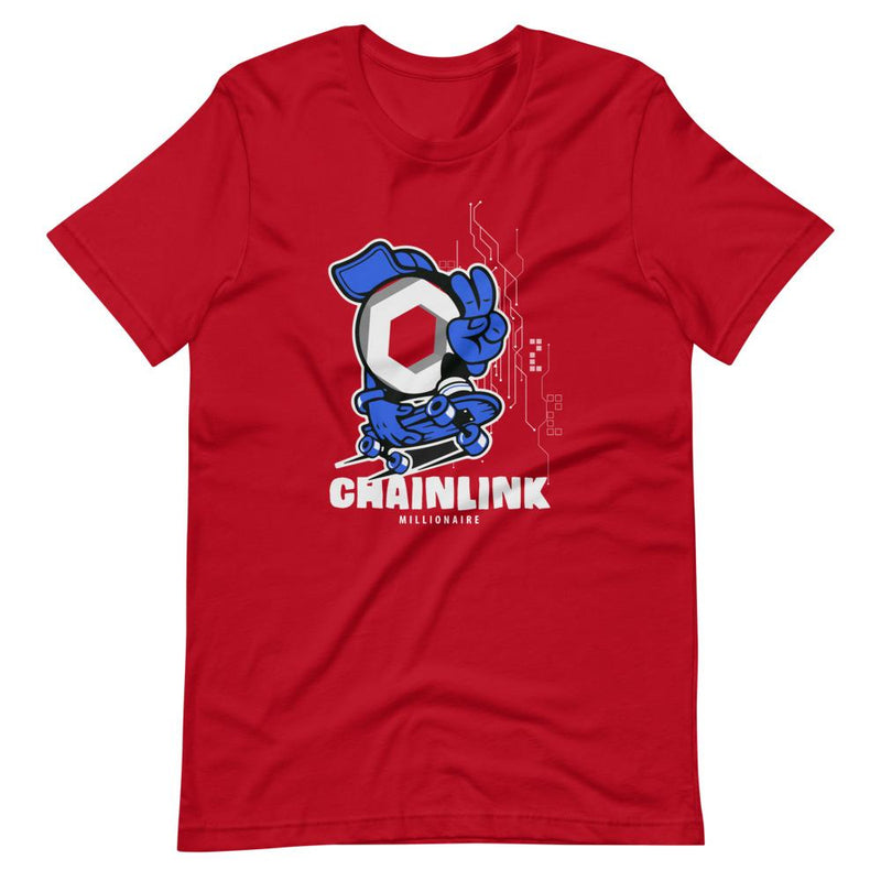 Chainlink Peace Crypto T-Shirt - Crypto Cove