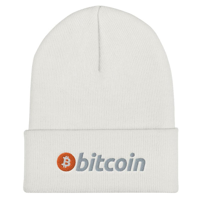 Bitcoin Cuffed Beanie - Crypto Cove