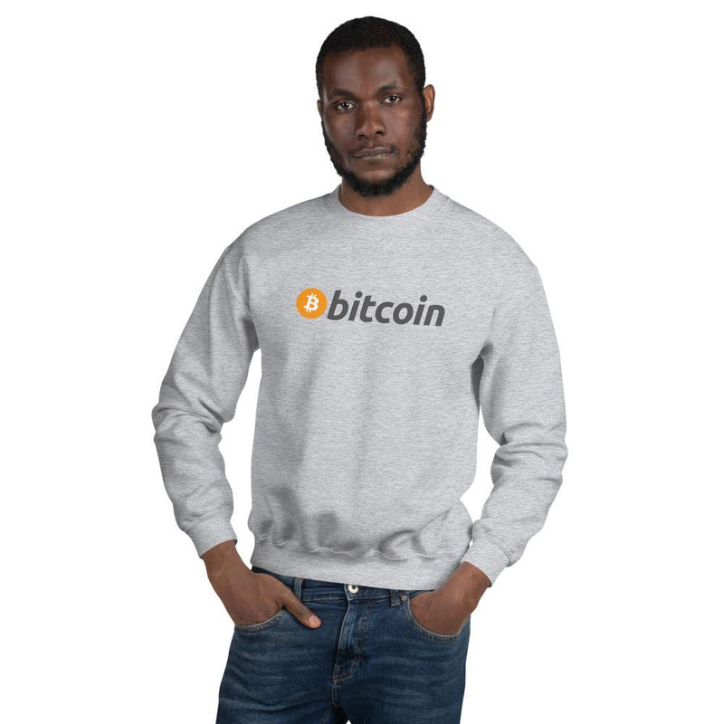 Bitcoin Original Grey Sweatshirt - Crypto Cove