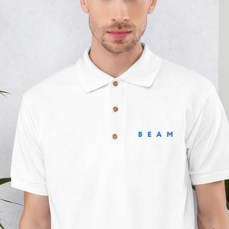 Beam Official Embroidered Polo Shirt - Crypto Cove