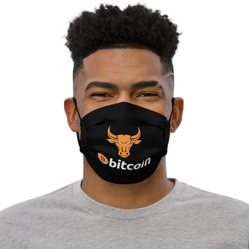 Bitcoin BULL Cxrypto Face Mask