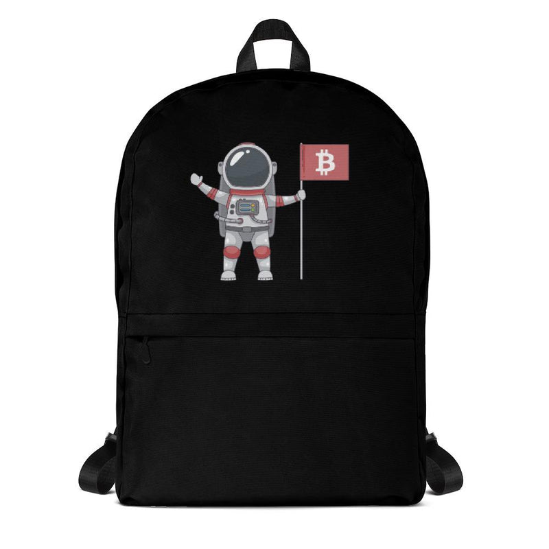 Bitcoin to the Moon Backpack - Crypto Cove
