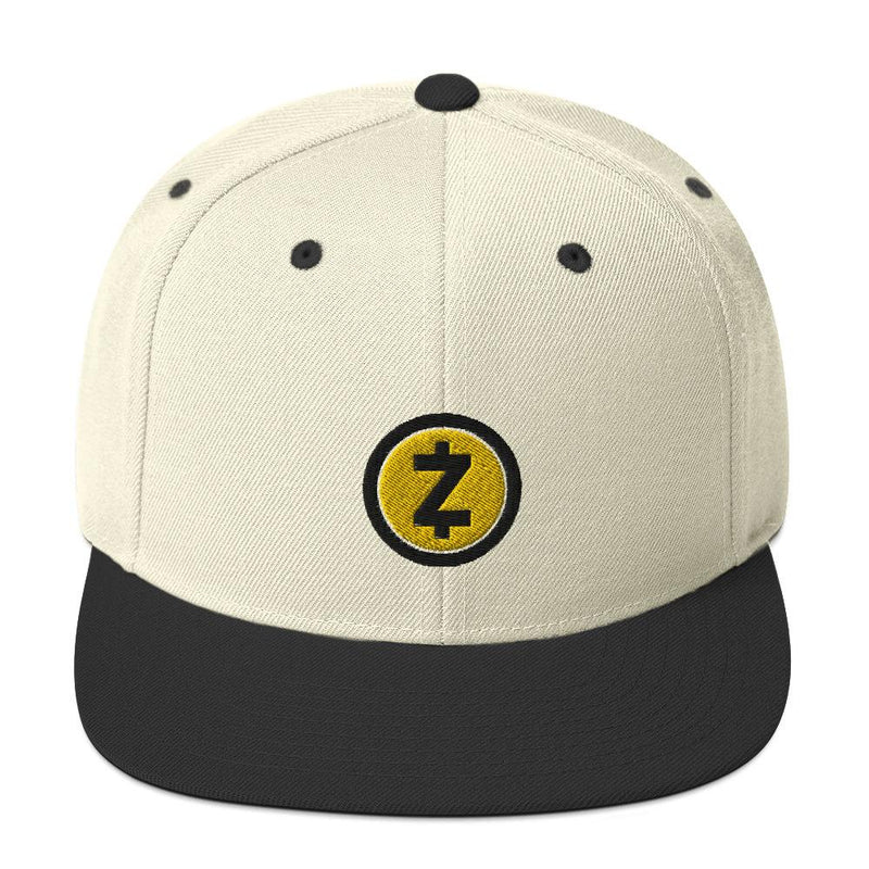 Z Cash Embroidered  Crypto Snapback Hat - Crypto Cove