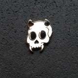 Devil Skull Hard Enamel Pin