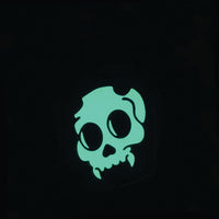 Glowing Devil Skull in Jar Hard Enamel Pin