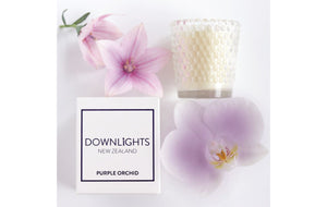 Mini Candle: Purple Orchid