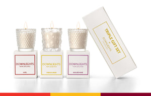 Gift Set - Triple Mini Candle Pack