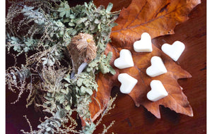 Original - Heart Soy Melts - Gardenia & Sweet Pea
