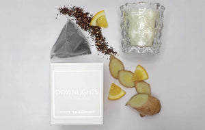 WP: Mini Candle - White Tea & Ginger