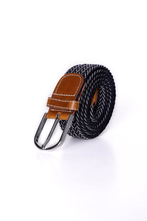 Shaded Charcoal Canvas Belt