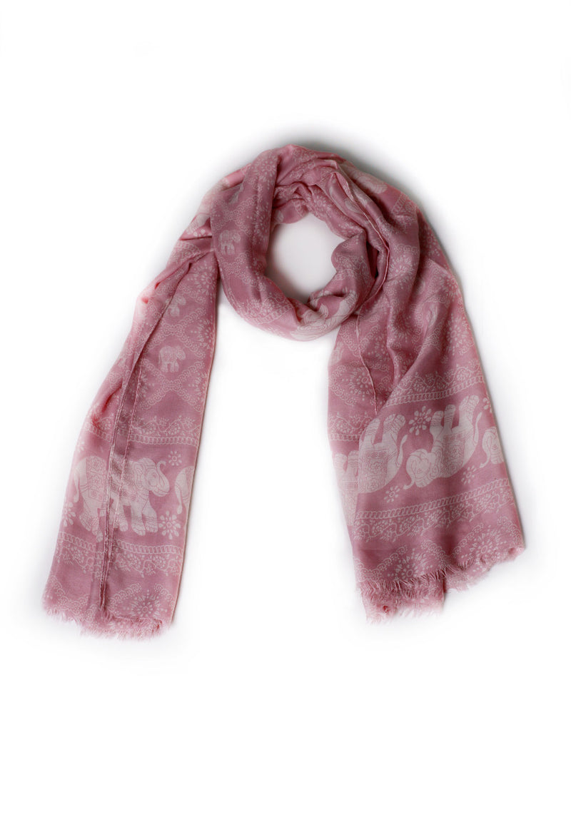 Powder Pink Scarf
