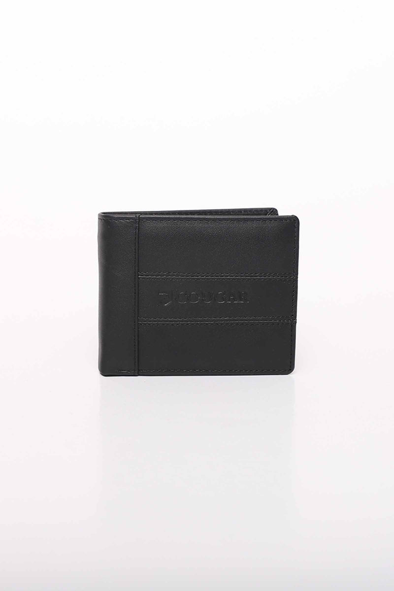 Black Solid Wallet