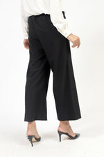 Black Basic Culotte