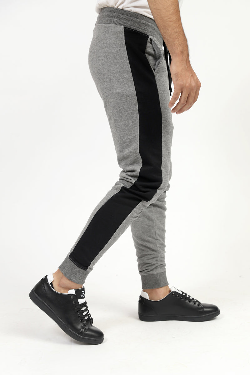 Grey Trouser With Black Stripes