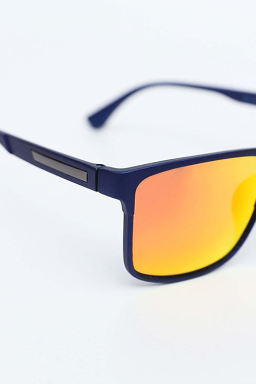 Yellow Square Lens Sunglasses