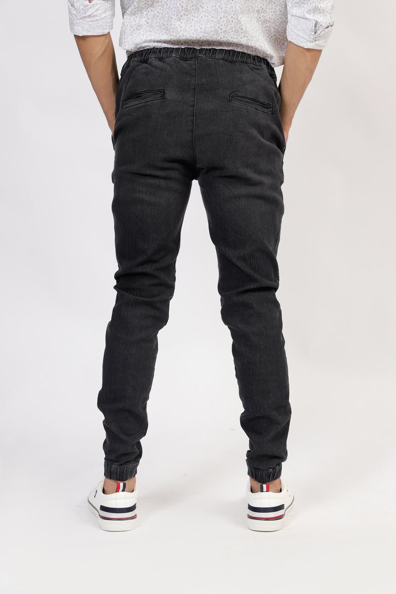 Black Denim Trousers