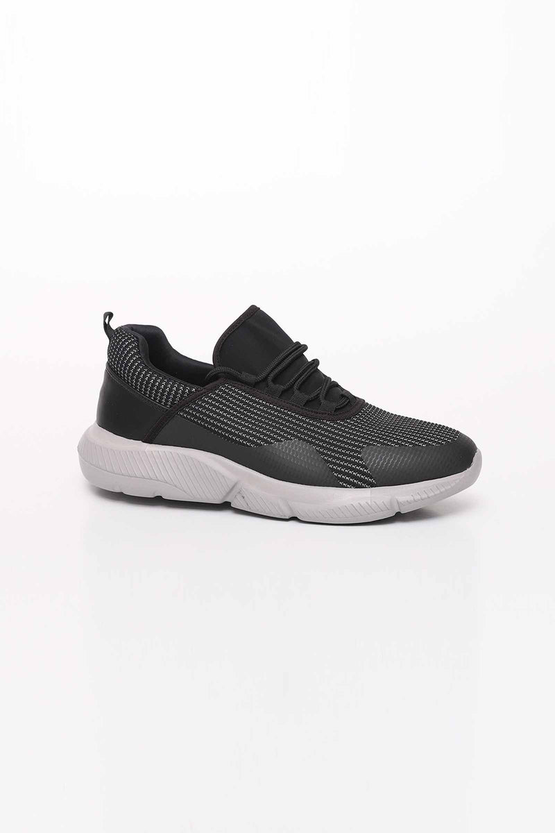 Black Runner Shoes