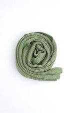 Solid Green Scarf