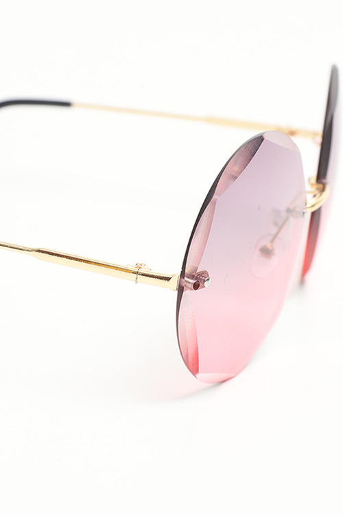 Light Pink Octa Glasses
