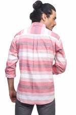 Red & Pink Stripes Shirt