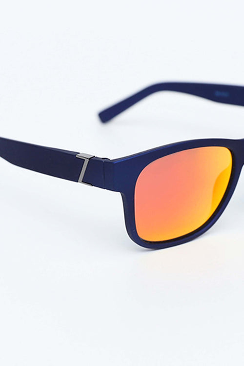 Yellow Wide Legged Sunglasses