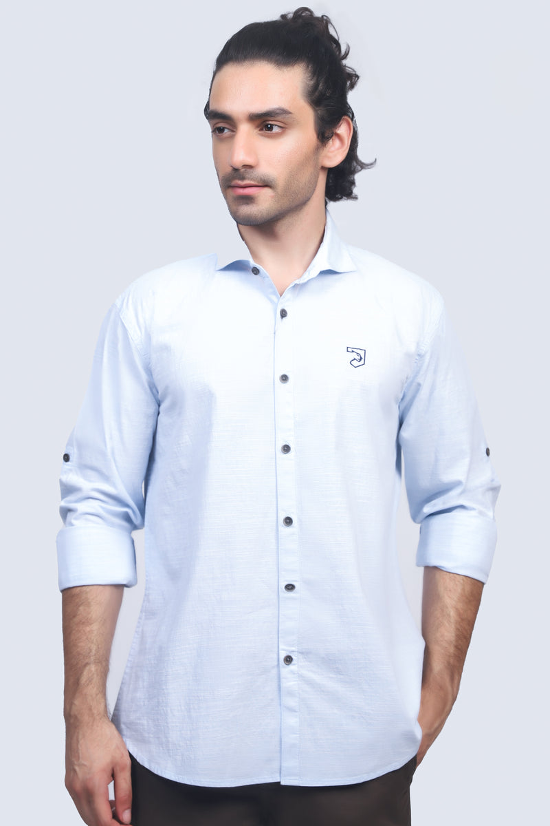 Sky Blue Casual Shirt