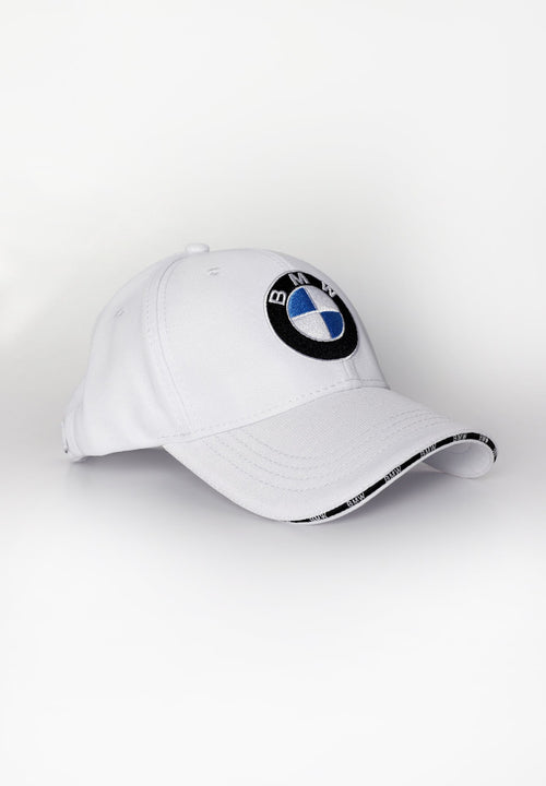 White BMW Cap