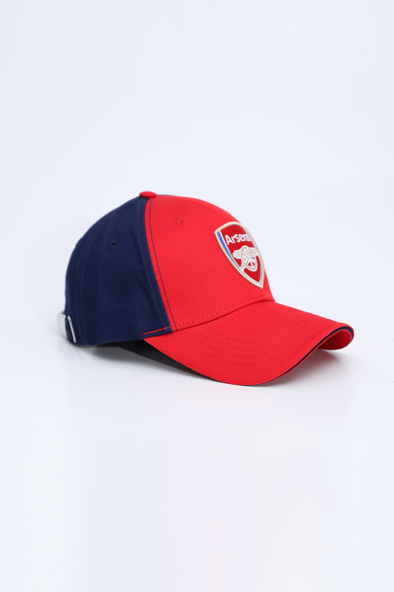 Red Navy Arsenal Cap