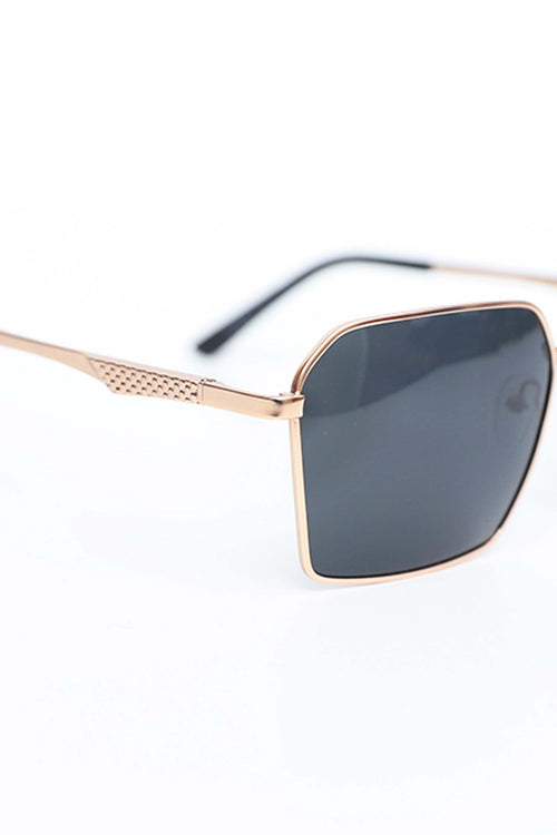 Sunglasses With Hexagon Frame