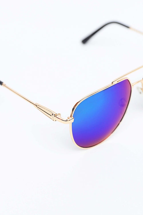 Blue Shaded Aviators
