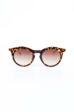 Round Sunglasses With Animal Print