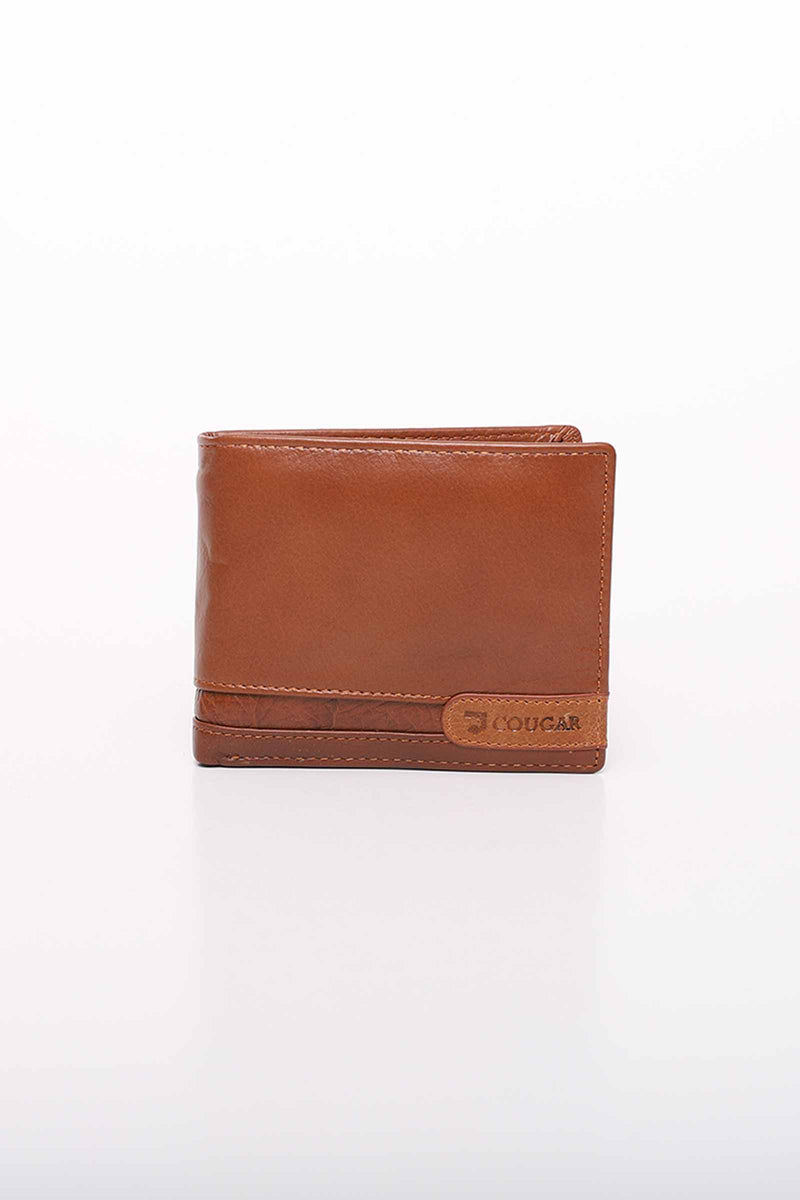 Two Toned Brown Wallet