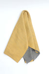 Double Sided Yellow & Grey Shawl