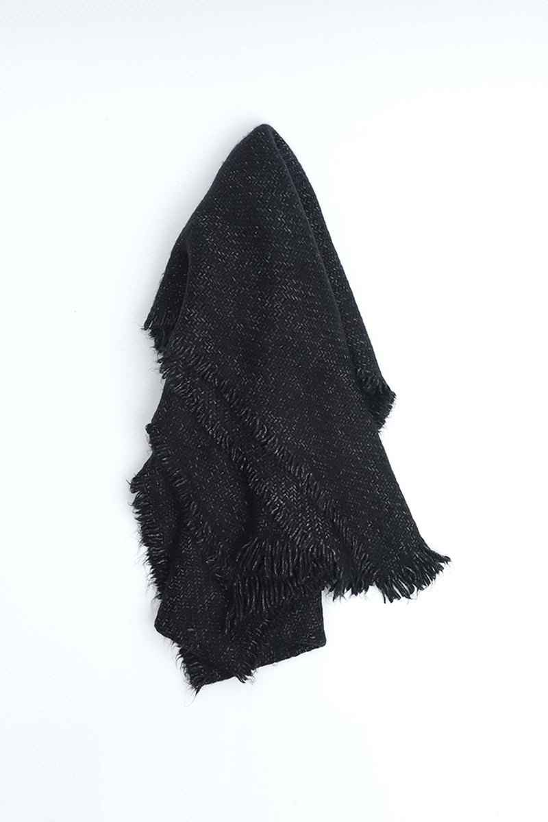Charcoal Textured Shawl