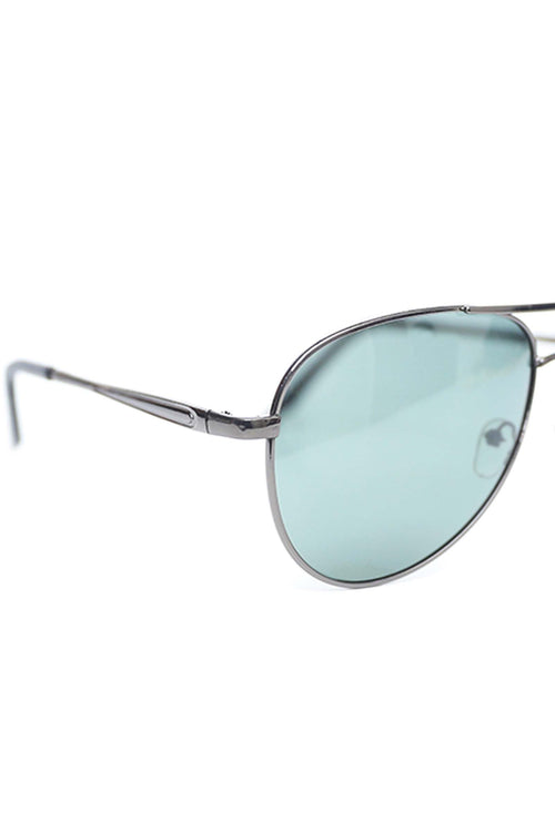 Metallic Green Aviators
