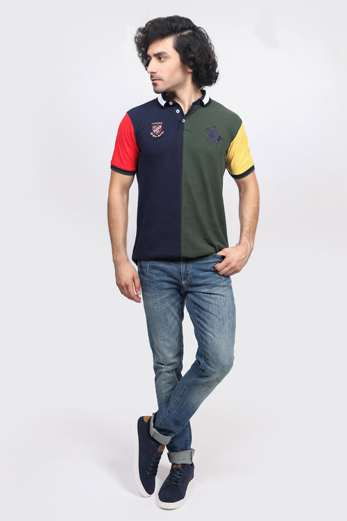 Multicolored Polo