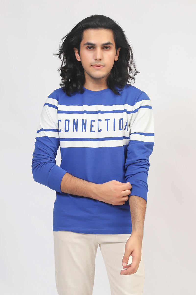 Connection Blue T-Shirt