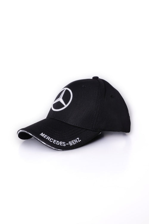 Black Mercedes Benz Cap