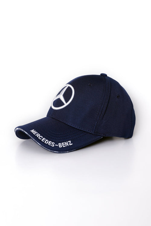 Navy Blue Mercedes Benz Cap