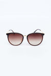 Brown Cat-eyed Sunglasses