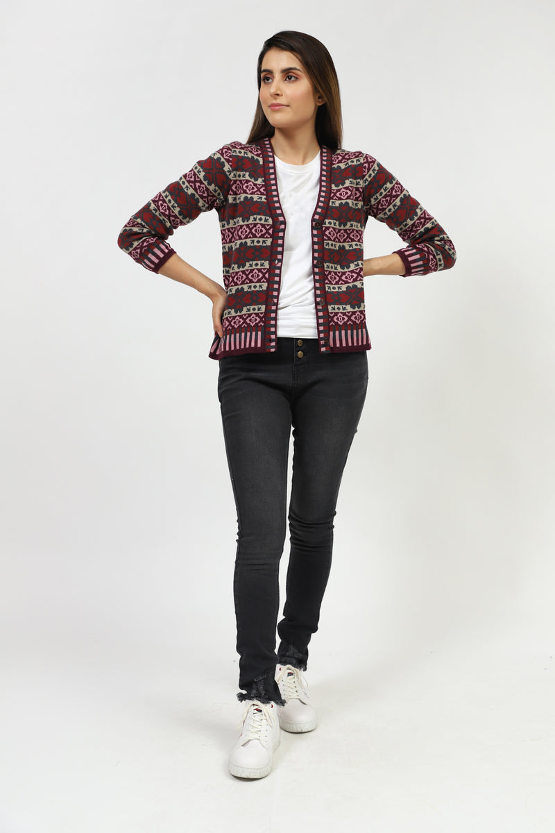 Multi Jacquard Sweater